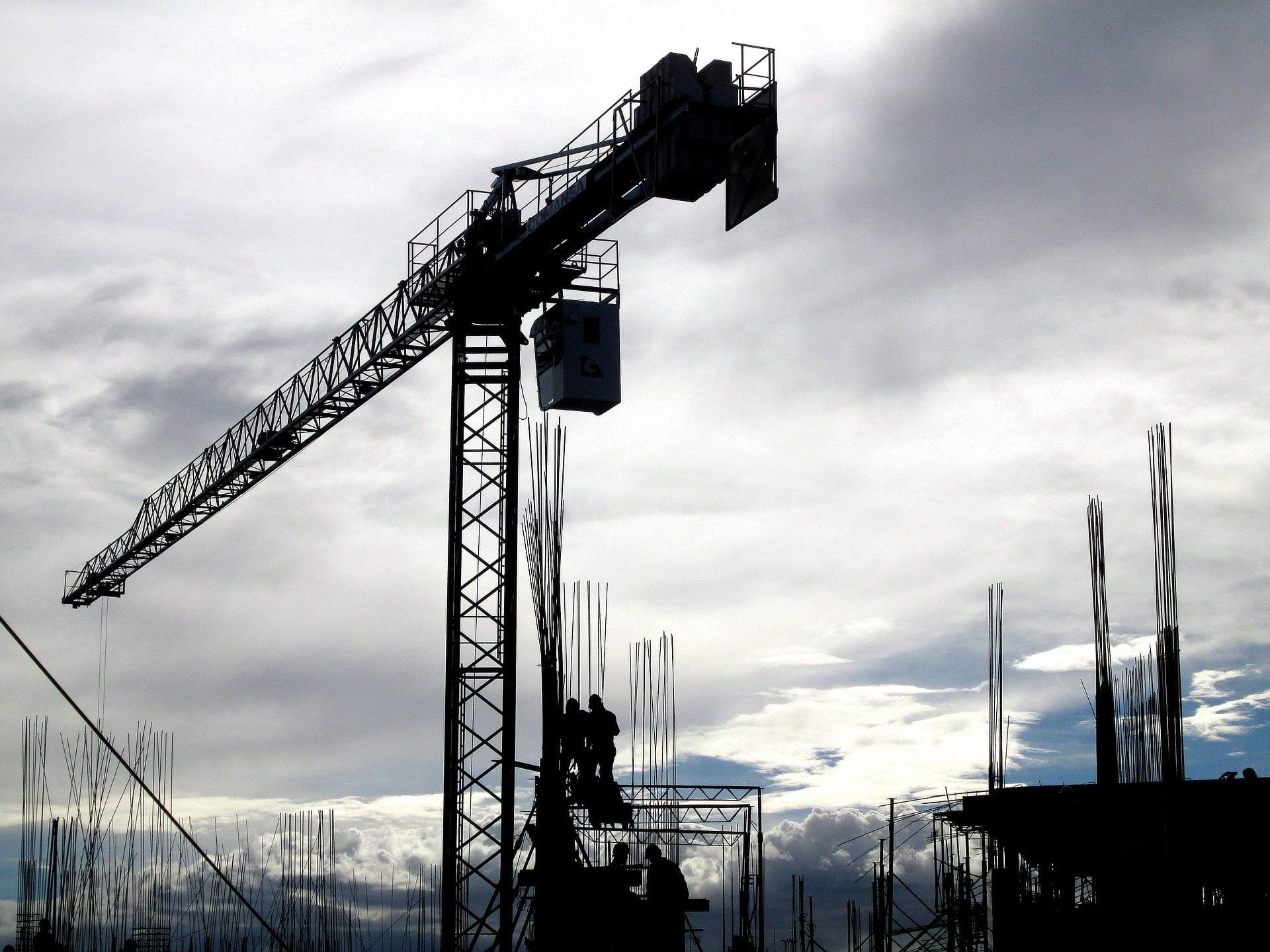 bouw bouwbedrijf kraan