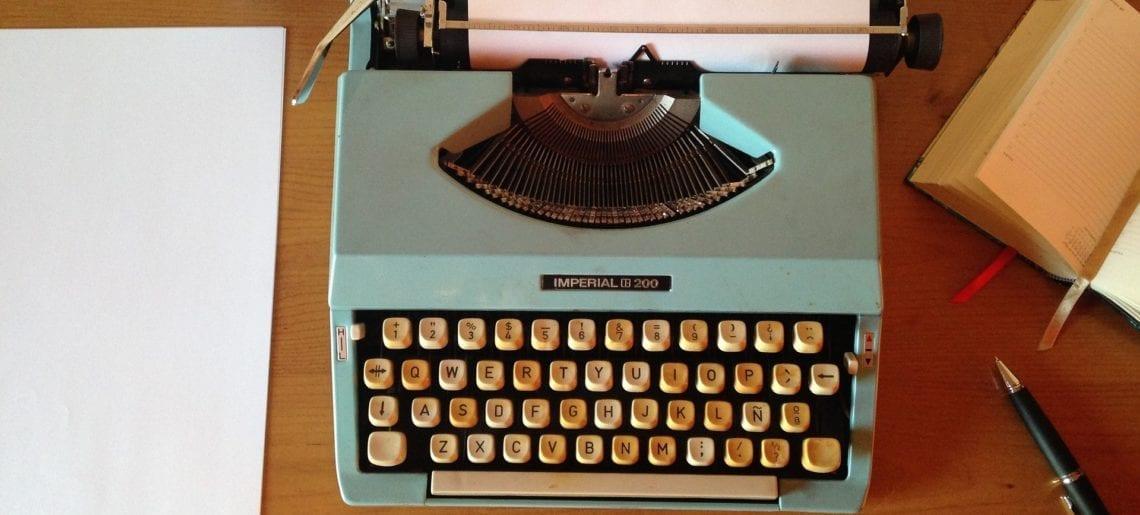 En nu ga ik écht beginnen met schrijven…
