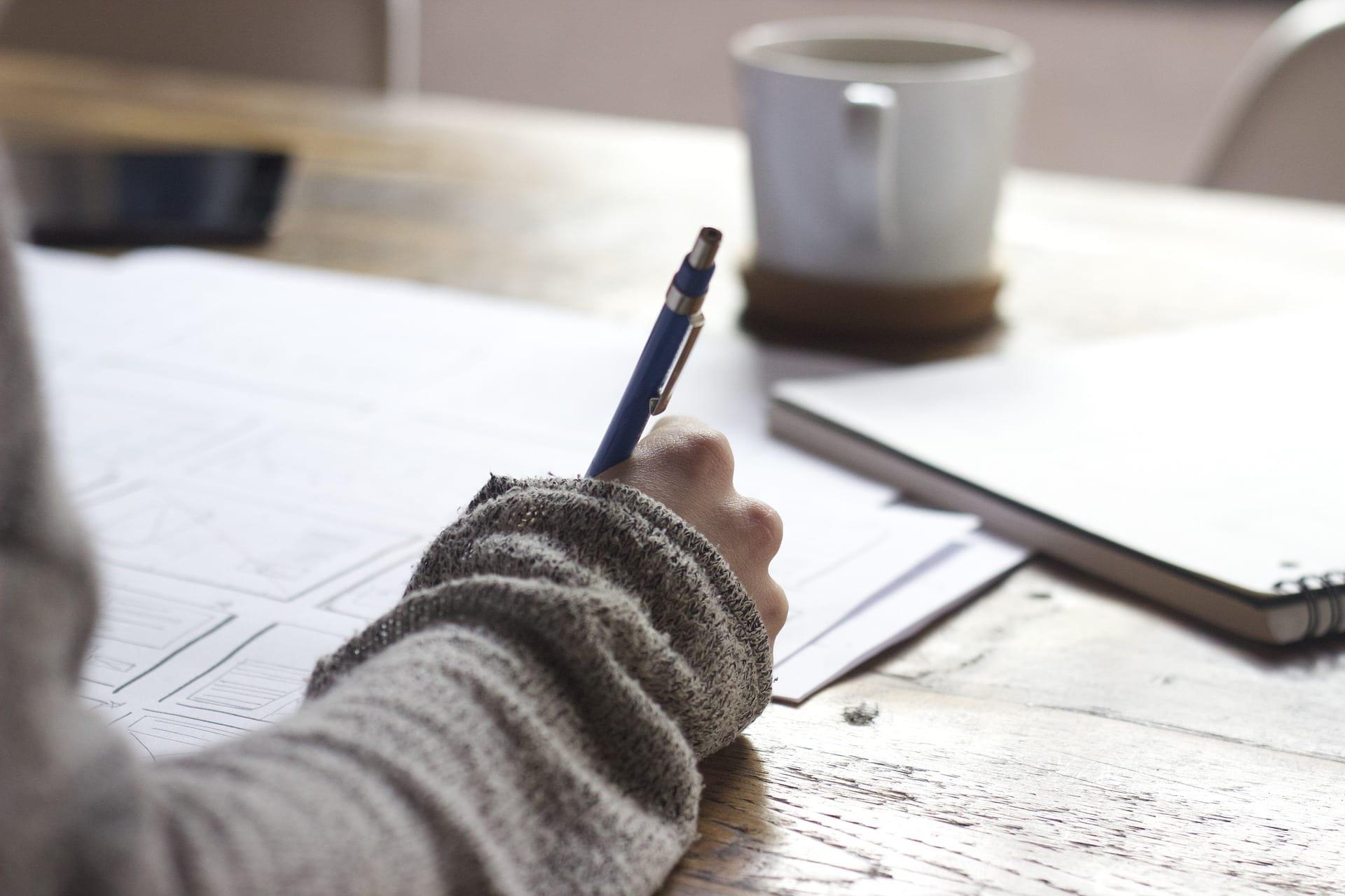 schrijven therapie kind