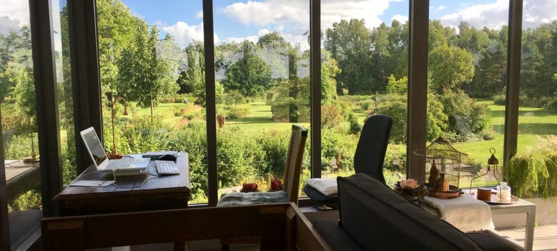Productieve schrijfweek in lekker saai Harkstede :)