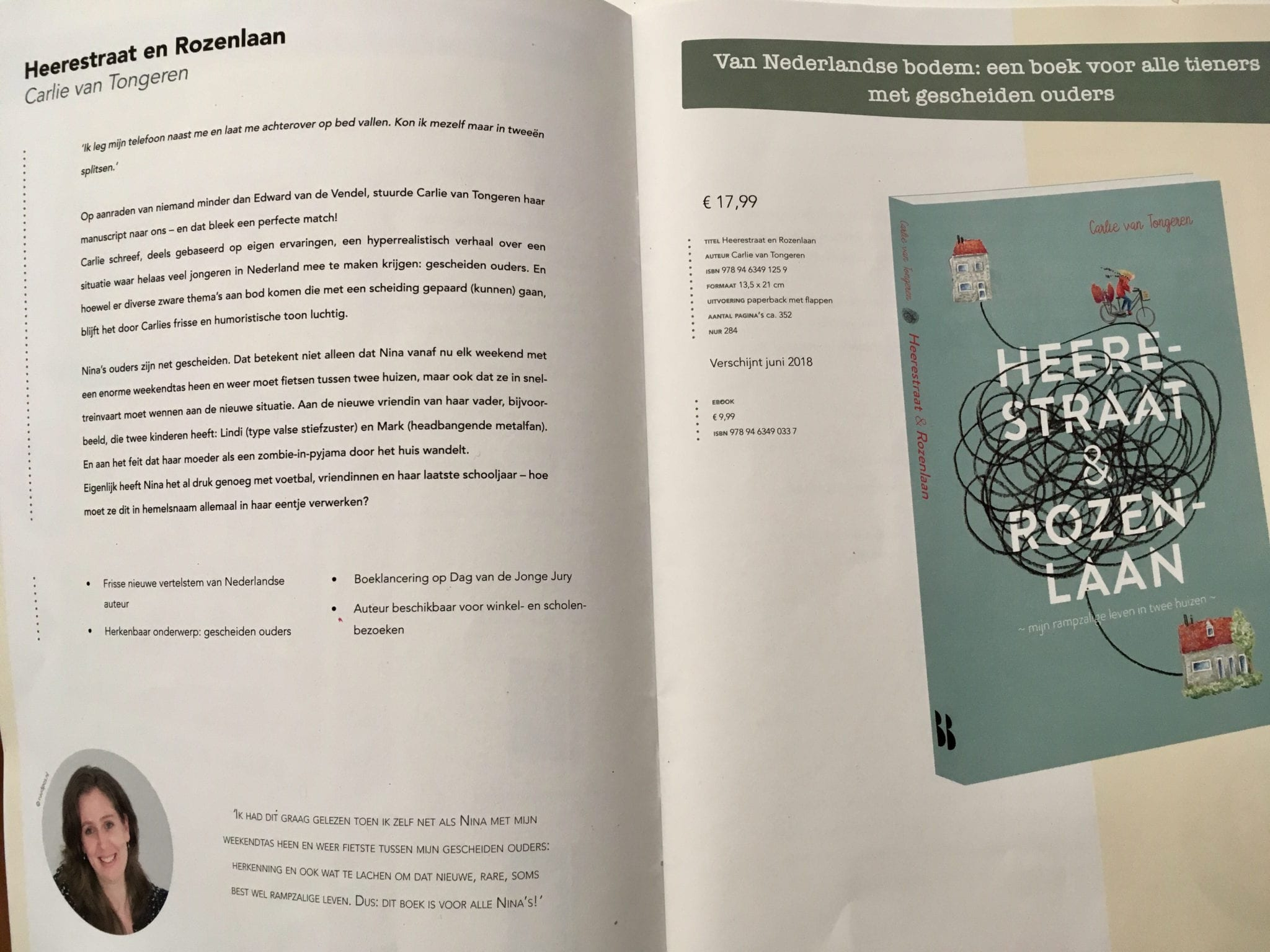 Heerestraat en Rozenlaan catalogus zomer Blossom Books