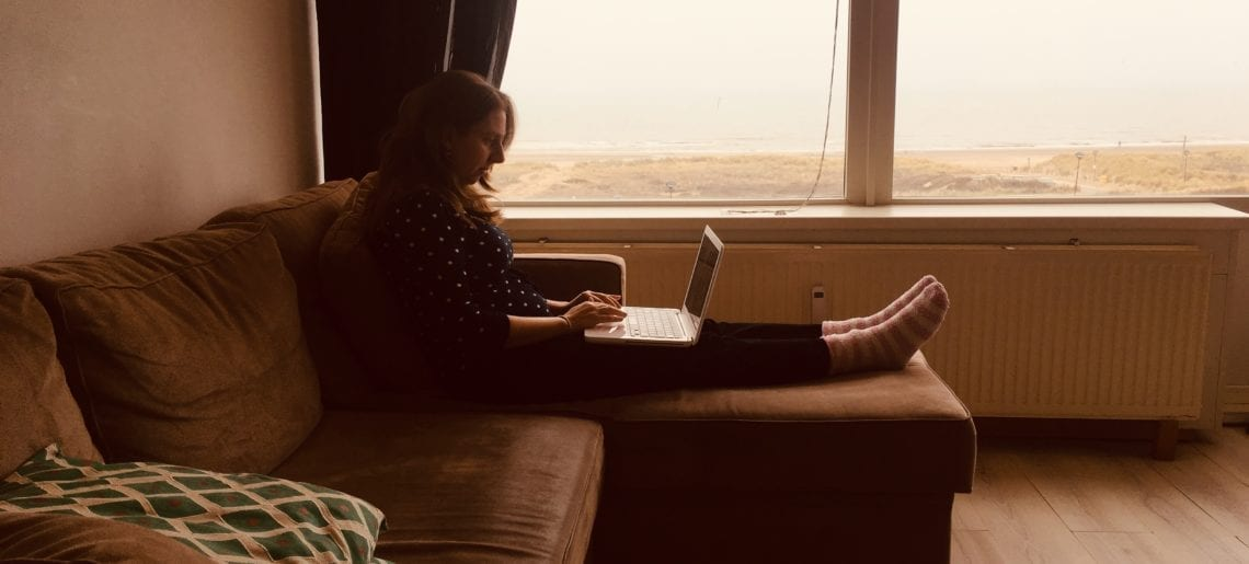 Schrijfvijfdaagse in Noordwijk… je was fantastisch!
