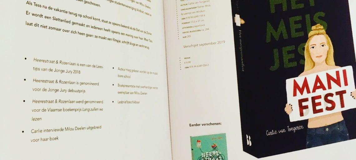 Hoera, nieuw boek Het meisjesmanifest AF!
