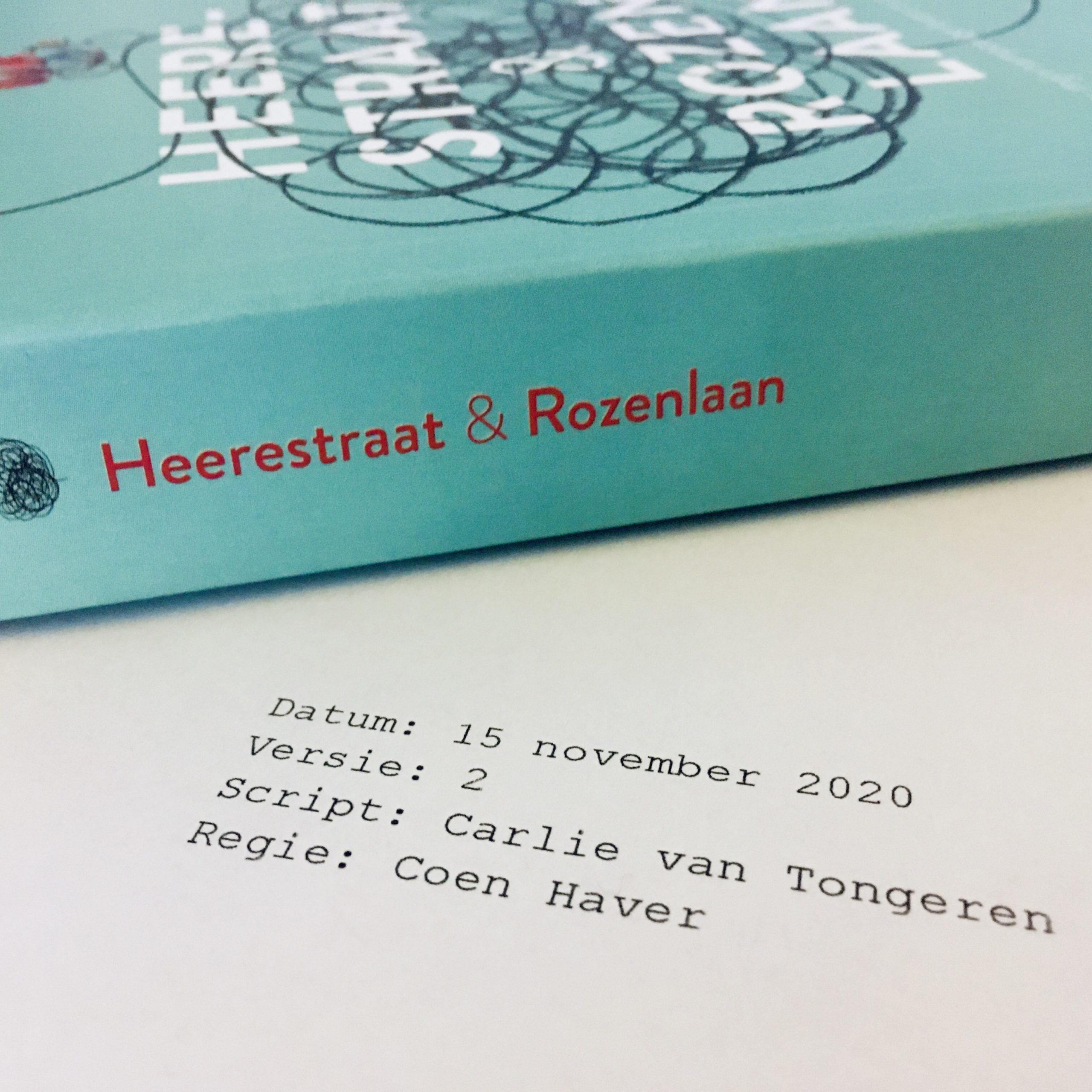 Scenarioschrijven en Heerestraat & Rozenlaan
