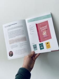 Spread nieuw boek Carlie van Tongeren in najaarscatalogus